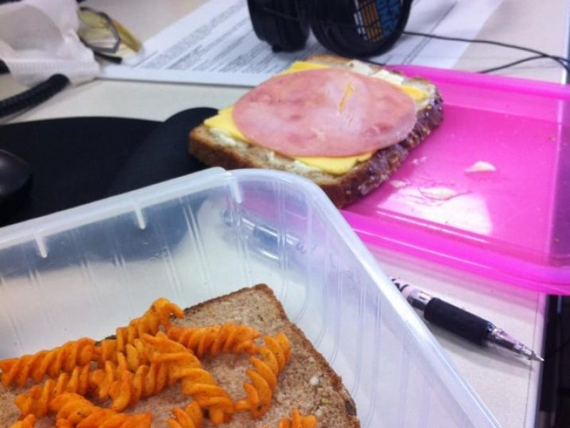 True Italian Sandwich Cooked At The Office